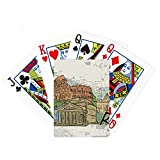 Italy Rome Landscape Landmark Nation Poker Playing Cards Tabletop Game Gift