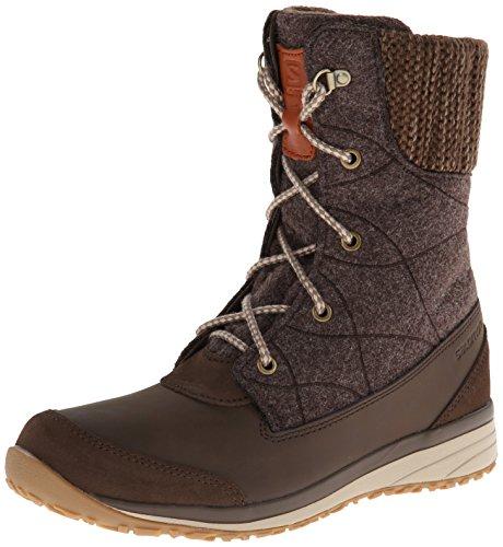 Salomon Damen L37842100 Trekking-& Wanderstiefel absolute brown - shrew - sand