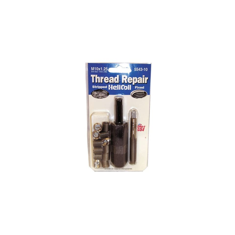 Helicoil 5543 10 M10 x 1.25 Metric Fine Thread Repair Kit