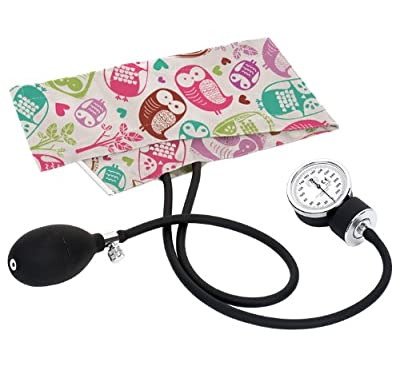Prestige Medical Aneroid Sphygmomanometer S82 -Print Owl's Cream