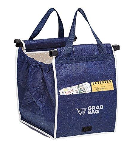 Original 40 Lb Bag - Original Insulated Grab Bag Hot or Cold Reusable Grocery Bag GRABBAG