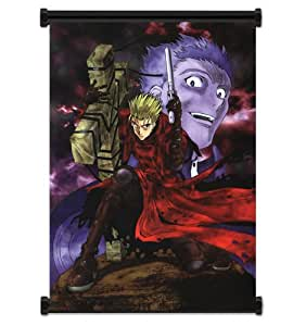 """Trigun Anime Fabric Wall Scroll Poster (16""""x22"""") Inches"""