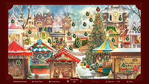 Amazon Jacquie Lawson Christmas Market Advent Calendar Online