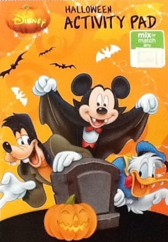 Disney Mickey & Minnie Mouse Halloween Coloring &
