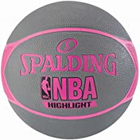 Spalding NBA Highlight Ballon de Basket Femme