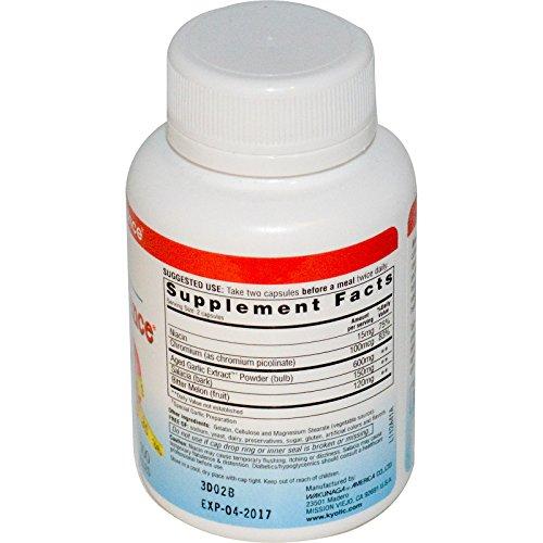 Kyolic Formula 112 Aged Garlic Extract Blood Sugar Balance (100-Capsules)