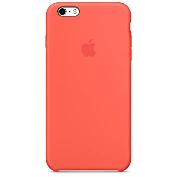 Apple Carcasa para Apple iPhone 6S PLUS, Silicone Case Apricot - MM6F2ZM/A
