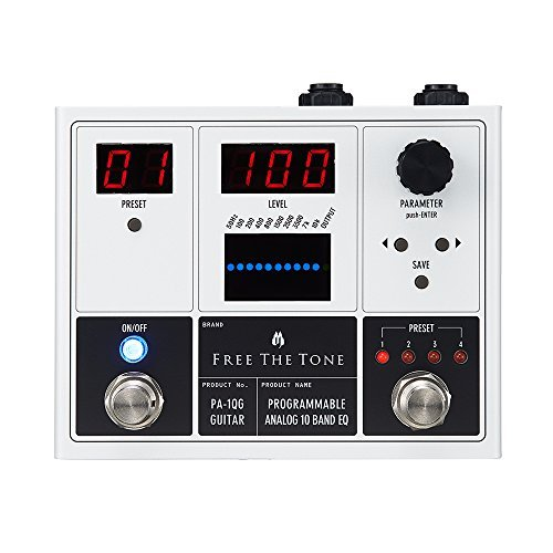 ( Free the tone huri-zato-n Guitar For Equalizer PA – 1QG [Programmable Analog 10 Band EQ])