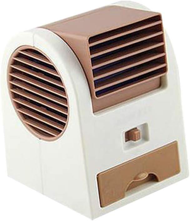 2019 Air Cooler USB Evaporativo Dispositivo di Raffreddamento Umidificatore Purificatore Ventilatore ad Aria Condizionata per Casa//Ufficio//Camper//Garage Condizionatore Portatile Blue