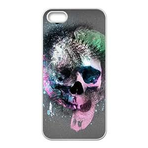 Unique Design Colorfull Painted Sugar Skull Phone Case for iPhone 5/5s