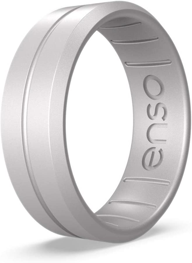 Handmade in The USA Lifetime Quality Promise The Premium Fashion Forward Silicone Ring Enso Rings Classic Contour Silicone Ring