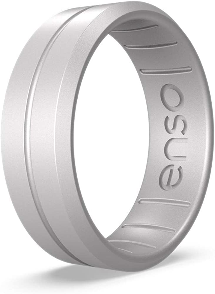 Enso Rings Classic Contour Silicone Ring Handmade in The USA Lifetime Quality Promise The Premium Fashion Forward Silicone Ring