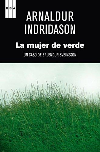 Portada del libro La mujer de verde de Arnaldur Indridason