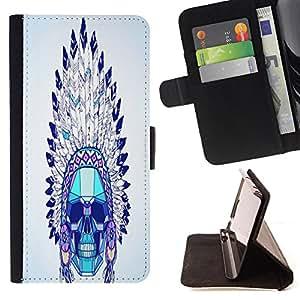 King Case - FOR Samsung Galaxy S3 III I9300 - it is past - Prima caja de la PU billetera de cuero con ranuras para tarjetas, efectivo Compartimiento desmontable y correa para la mu?eca