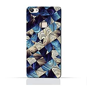 AMC Design Art Abstract Pattern Printed Protective Case for Vivo X6 Plus - Multi Color
