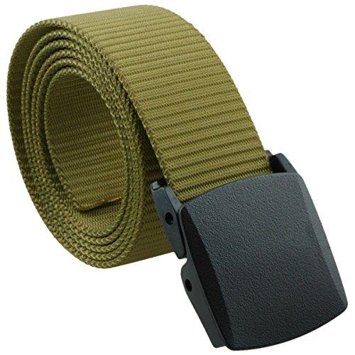 squaregarden Men's Nylon Webbing Military Style Tactical Duty Belt – DiZiSports Store