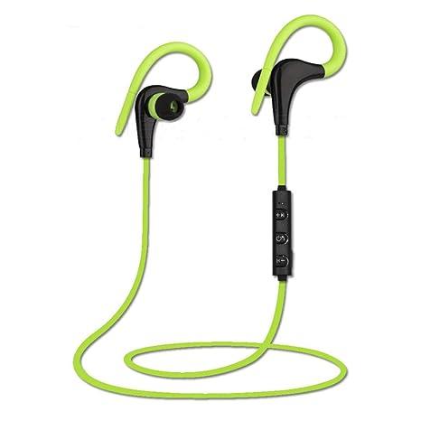 Lorenlli Auriculares inalámbricos BT-O1 Sport Bluetooth SweatProof Auriculares con micrófono de Alta fidelidad Auriculares