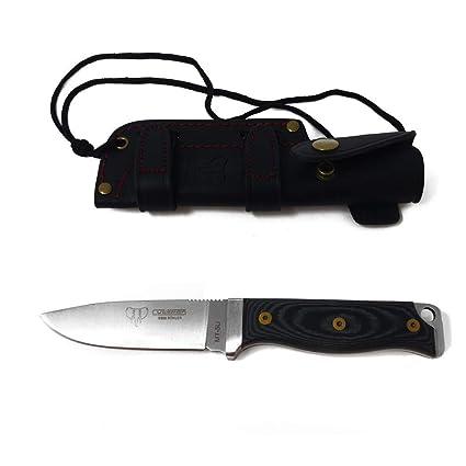 Amazon.com: Cudeman MT-5U - Cuchillo fijo y hoja para ...