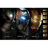 映画 アイアンマン IRON MAN ポスター 約90x60cm Avengers アベンジャーズ 【並行輸入品】