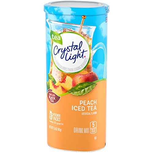 Crystal Light Peach Tea Drink Mix, 72 Pitcher Packets (12 Packs of 6) by Crystal Light (Image #6)