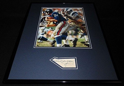 Deacon Jones Signed Photo - Framed 16x20 Display - JSA Certified - Autographed NFL Photos ()