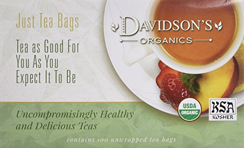 - Davidson's Ginger Spice Tea Bags, 100 Count