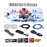 slendor 1399 Arcade Games Console- Pandoras Box 5s Arcade Video Game Console Arcade Game Machine for 2 Players with Double Joystick Support PC & TV VGA HDMI Output