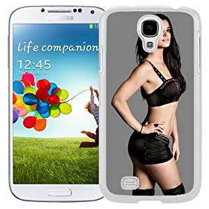 Unique Design Samsung Galaxy S4 Cover Case Wwe Superstars Collection Wwe 2k15 Paige 02 in White Samsung Galaxy S4 I9500 i337 M919 i545 r970 l720 Protective Phone Case