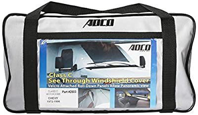 ADCO 2503 Clear RV Windshield Cover