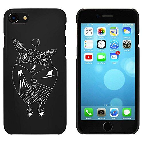 Noir 'Chouette' étui / housse pour iPhone 7 (MC00060739)