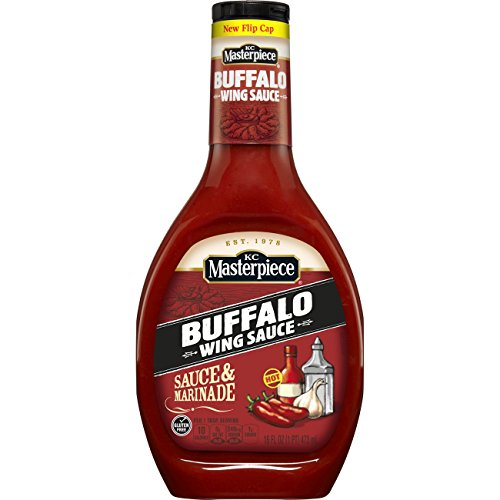 KC Masterpiece Buffalo Wing Sauce & Marinade, 16 Ounces