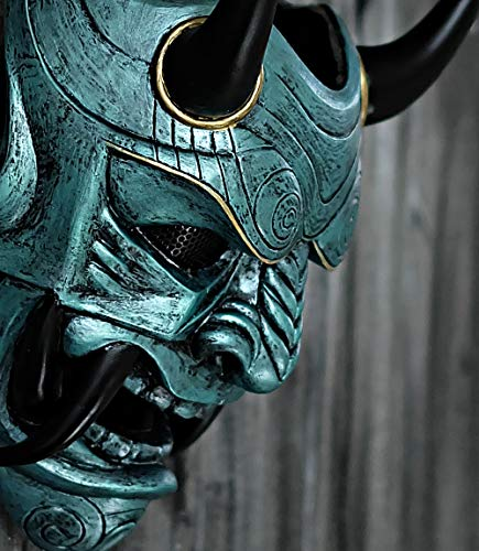 tripple_777 Airsoft Mask Samurai Assassin Demon Oni BB Gun Halloween Costume Evil Cosplay DA07]()
