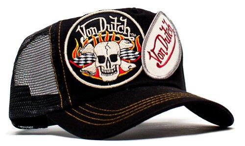 von-dutch-originals-unisex-adult-trucker-hat-one-size-black-2-patch