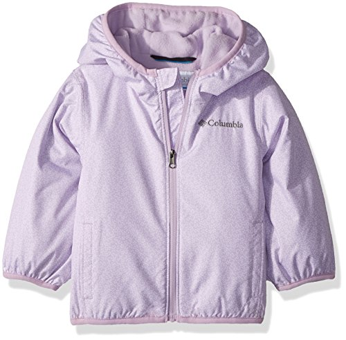 622d87f9f Columbia Sportswear Baby Mini Pixel Grabber Ii Wind Jacket Outerwear,  phantom purple print, 3