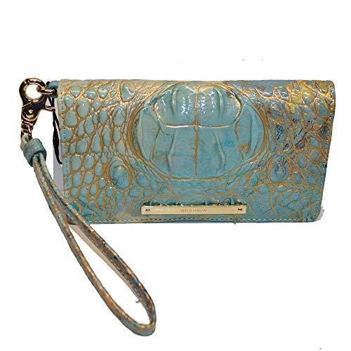 Brahmin Debra Croco emb Leather Wristlet Serendipity Melbourne ()