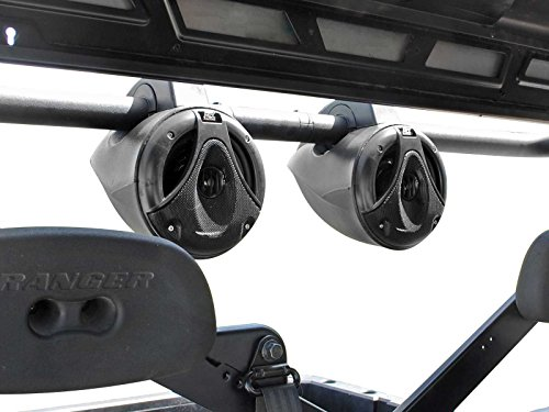 SuperATV Polaris Ranger Midsize & Fullsize 500 / 570 / 900 / 100 / EV / EXT Heavy Duty Wakeboard Speaker Mount (See Fitment) - Easy to Install!