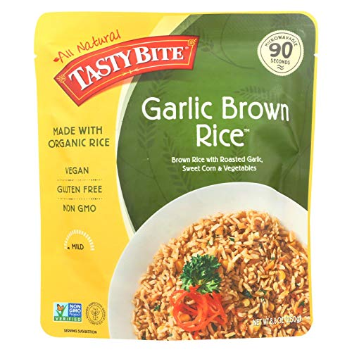Tasty Bite Rice Brwn Rstd Garlic ()