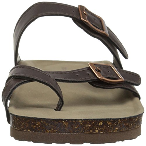 Sandal Women's Girl Ring Bryceee Madden Dark Toe Brown UfTqHOOwX