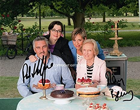 GIFTEDBOX - Foto firmada de Great British Bake Off: Amazon.es: Hogar