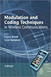 img - for Modulation and Coding Techniques in Wireless Communications book / textbook / text book