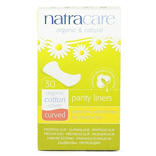 (6 PACK) - Natracare Natural Panty Liners Curved | 30s | 6 PACK - SUPER SAVER - SAVE MONEY