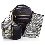 Diaper Bag Travel Backpack for Women: Large Water Repellent Bags for Mom and Baby
