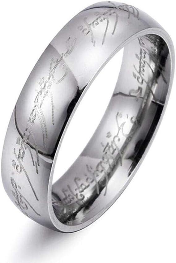 Milove 8MM Black Gold Batman Symbol Ring Titanium Stainless Steel Ring Band Size6-13