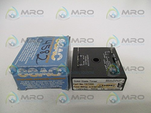Timer State Ssac Solid (SSAC TS1422 SOLID STATE TIMER 0.5-60 SEC.NEW IN BOX)