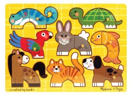Pets Mix 'n Match PegPets Mix 'n Match Peg - Match Peg Mix N Puzzle