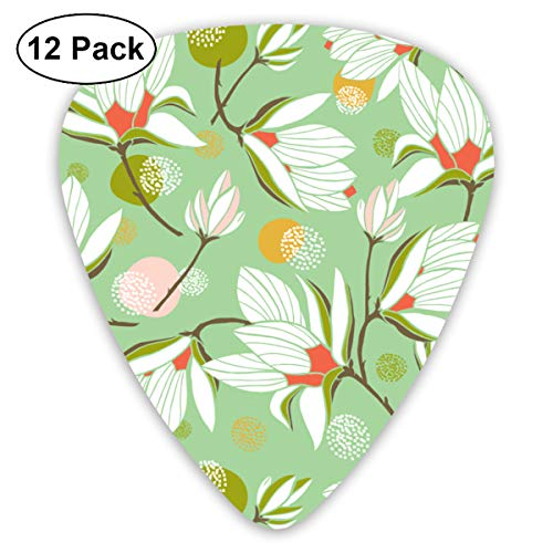 - Orchid MINT Bendy Ultra Thin 0.46 Med 0.73 Thick 0.96mm 4 Pieces Each Base Prime Plastic Jazz Mandolin Bass Ukelele Guitar Pick Plectrum Display