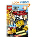 Fire Truck To The Rescue! (Turtleback School & Library Binding Edition) (Lego City Adventures)