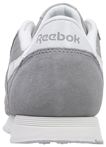 Classic cool Gris Nylon white Femme Sneakers Neutrals Shadow Basses Reebok FAwZZ