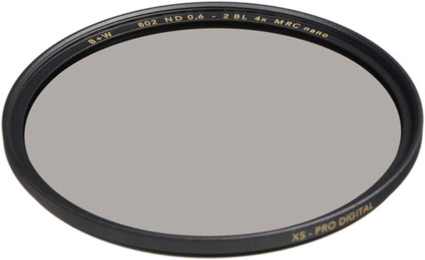 B+W 49mm 0.6-4X Multi-Resistant Coating Nano Camera Lens Filter, Gray (66-1089154)