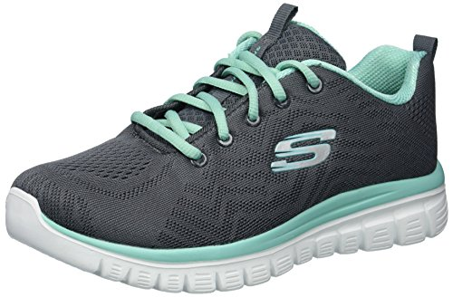Connected Women's Sport Trim Charcoal Skechers Get Graceful Green nSHxRw5Iqd